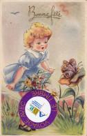 Enfant Et Le Papillon - Dessins D'enfants