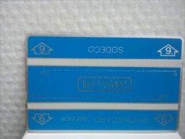 Landis & Gyr Service Card 002 D 00765 (Mint,Neuve) Rare - [4] Test & Services
