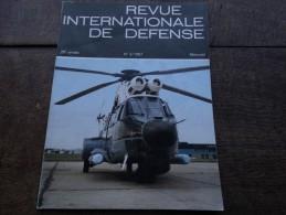 Revue Internationale De Défense N°3/1987 - Aviation