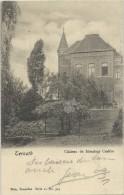Ternath    Château De Monsieur Crabbe;   Prachtige Kaart ; 1907  Naar  Laeken - Ternat