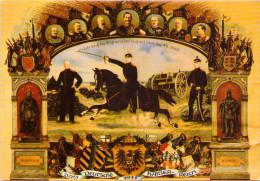 Das Deutsche Kaiser-Reich 1911 - Personnages