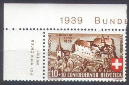 EE-/-546. SUPERBE VARIETE  CONSTANTE,   N° 341,  * * , Fraicheur Postale   , Cote 13.50 € , REF ZUMSTEIN = WII 2.2.03. - Pro Patria