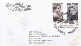 USA 2000 Baltimore Black Heritage Cover - Eerste Uitgaves (FDC)