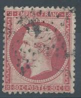 Lot N°27225    N°24a Rose Foncé, Oblit étoile Chiffrée 4 De PARIS ( R. D'ENGHEIN ) - 1862 Napoléon III.