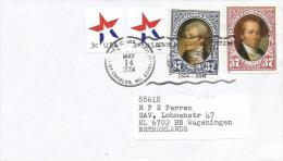 USA 2004 St Charles Lewis & Clark Bicentennial President Clark Lewis Cover - Eerste Uitgaves (FDC)