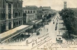 Inde CALCUTTA Old Court House Street- G - Inde