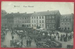 Aubel - Marché , Place Nicolaï - 1919 ( Voir Verso ) - Aubel