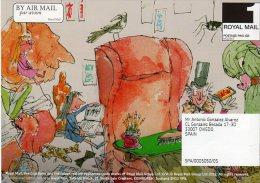 ROYAL MAIL COMMUNICATION STAMPS EMISSION 2012 ROALD DAHL COMICS - Gran Bretaña