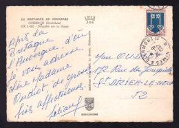 """Cachet Convoyeur """" NIMES à CLERMONT 1° - Brigade G / Carte Postale 1967 - Marcophilie (Lettres)"""