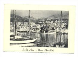 Monaco, Monté Carlo - La Côte D'Azur - Monte-Carlo