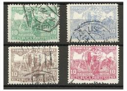 PORTUGAL -  Padrões Da Guerra - Af. Nrº 14-17 Used Set - Used Stamps