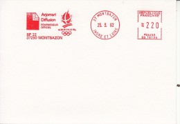 OLYMPISCHE SPIELE-OLYMPIC GAMES, FRANCE, 1992, RED METER !! - Winter 1992: Albertville