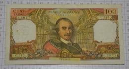 100 Francs Corneille:  C575, état B - 1962-1997 ''Francs''