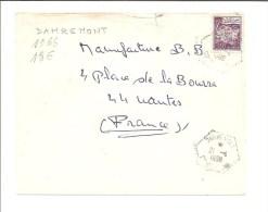 Enveloppe (Damremont Pour Nantes-1966) (Algérie) - Algeria (1962-...)