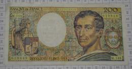 200 Frs Montesquieu, M148, TTB - 200 F 1981-1994 ''Montesquieu''