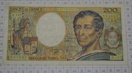 200 Frs Montesquieu, H147, TTB - 1962-1997 ''Francs''