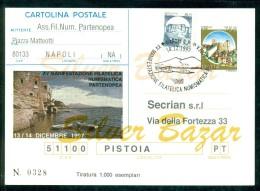 INTERO POSTALE - INTERI POSTALI - CARTOLINA POSTALE - IPZS - I.P.Z.S- NAPOLI-BORSE E SALONI COLLEZIONISMO - 6. 1946-.. Repubblica