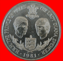 ★ LADY DIANA ★ GUERNSEY 25 PENCE 1981! UNC! LOW START ★ NO RESERVE! - Guernesey