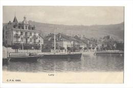 11026 - Lutry Hôtel De Ville Et Les Barques Dans Le Port - VD Vaud
