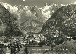 COURMAYEUR  VAL D'AOSTA  Catena Del M. Bianco - Italia