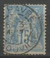 France - Type Sage - N°90 - Obl. Cachet à Date LE HAVRE INGOUVILLE - 1876-1898 Sage (Type II)