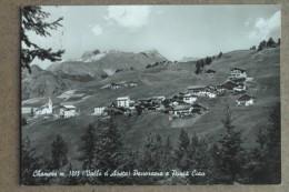 CHAMOIS-POANORAMA E PUNTA CIAN-1959 - Non Classificati