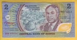 SAMOA - Billet De 2 Tala. 1990. Pick: 31a. Billet En Polymère. NEUF - Samoa