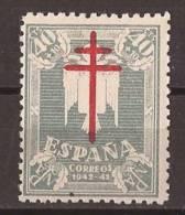 ES959-LA117. España.Spain Espagne.PRO TUBERCULOSOS. 1942 (Ed 959**) Sin Charnela. MAGNIFICO. - 1931-50 Nuevos & Fijasellos