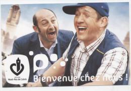 """SPECTACLE  L 9 /  CINEMA  """" BIENVENUE CHEZ NOUS    """"  ED CG NORD PAS DE CALAIX    CPSM   10X15 - Posters On Cards"""