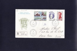 TAAF 1988 Cat. Maury  Belle Affranchissement  : Valeur Timbres 23,50 Euros - Terres Australes Et Antarctiques Françaises (TAAF)