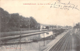 54 Meurthe Et Moselle (canton Tomblaine) VARANGEVILLE La Gare Et Le Port  ( Editions :Plessy  *PRIX FIXE - France