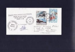 TAAF 1981 Cat. Maury  Belle Affranchissement  : Valeur Timbres 56.00 Euros - Terres Australes Et Antarctiques Françaises (TAAF)