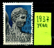 OLANDA - NEDERLAND - Year 1937 - 12 1/2 Cent - Usati -used. - Periodo 1891 – 1948 (Wilhelmina)