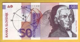 SLOVENIE - Billet De 50 Tolarjev. 15-01-92. Pick:13a. NEUF - Slovénie
