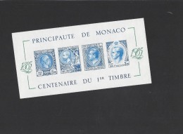11038 -  Bloc Non Dentelé Neuf ** Centenaire Du Premier Timbre 1985 - Blocs