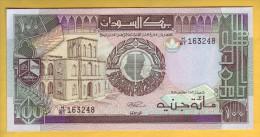 SOUDAN - Billet De 100 Pounds. 1989. Pick: 44b. NEUF - Soudan