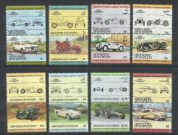 ST. VINCENT GRENADINES 1985 CARS HISTORY CAR STORIA DELLE AUTO AUTOMOBILI  MNH - St.Vincent (1979-...)