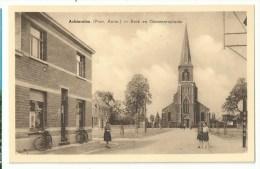 Achterolen (Prov. Antw.) OLEN - Kerk En Gemeenteplaats - Olen
