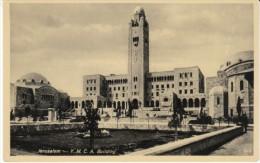 Jerulsalem Israel, YMCA Building, C1910s/20s Vintage Postcard - Israel