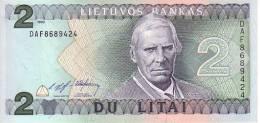 LITHUANIE  2 Litai   Emission De 1993   Pick 54a     ***** BILLET NEUF ***** - Lithuania