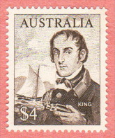 AUS SC #417 MNH  1966 Admiral Philip Parker King, CV $7.00 - 1966-79 Elizabeth II
