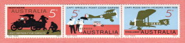AUS SC #470a MNH STR/3  1969 England-to-Australia, 1st Flight 1919, CV $3.25 - Mint Stamps
