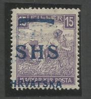 Jugoslawien / Yugoslavia / Croatia - Mi.63DD - DOUBLE OVERPRINT - Mint / MH / * 1918 - Mi.: - - 1919-1929 Königreich Der Serben, Kroaten & Slowenen