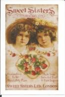 STICKER SIZE.7X10 CM. APROX - Sweet Sisters - Stickers