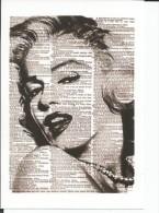 STICKER SIZE.7X10 CM. APROX - Marilyn Monroe - Otros