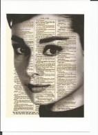 STICKER SIZE.7X10 CM. APROX - Audrey Hepburn - Otros