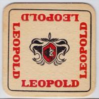 Bierviltje / Sous Bock / Bierkaart ## LEOPOLD ## - Beer Mats