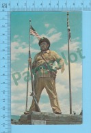 Ranger ( US Ranger Stand Guard Lake George N.Y ) CPM  Carte Postale Postcard Recto/verso - Uniformen