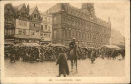 Ww81218 Valenciennes Markt Pferd X - Valenciennes