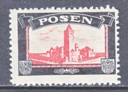LOST COLONIES  MOURNING LABEL  POSEN  ** - Germany